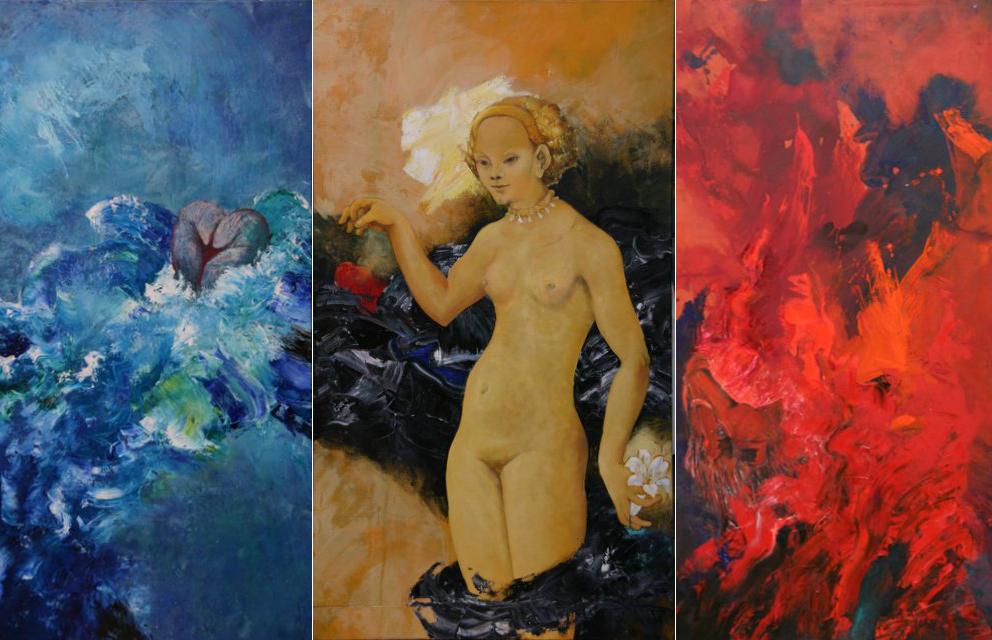 Triptychon-Venus