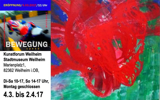 Ausstellung des Kunstforums : BEWEGUNG